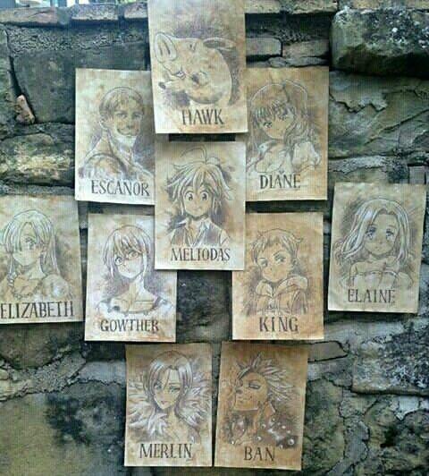 Photo of Los 7 Pecados Capitales. Anime