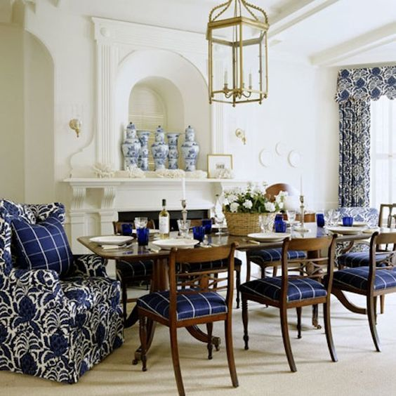 South Shore Decorating Blog Blue and White Decor - It Never Gets