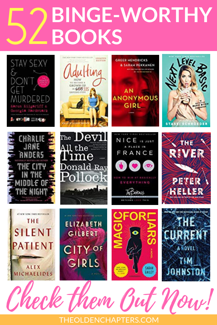 2020 Book List 52 New And Exciting Titles To Read This Year The Olden Chapters In 2020 Books To Read For Women Top Books To Read Books To Read In Your 20s