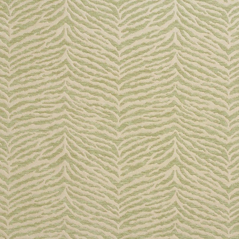 Light Green Woven Zebra Look Chenille Upholstery Fabric By The Yard Pattern B0870f Chenille Fabric Upholstery Fabric Fabric