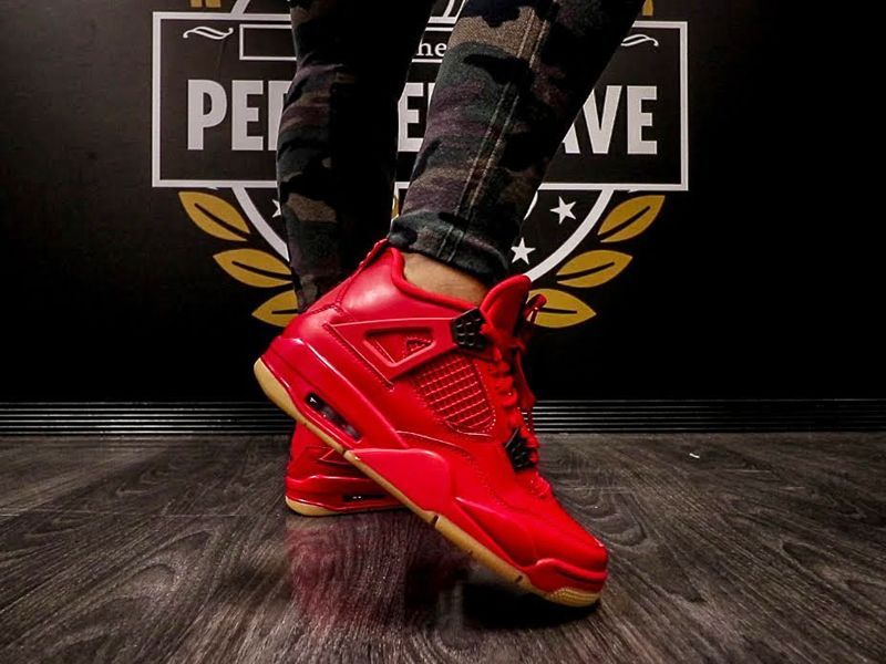 """Where To Buy Air Jordan 4 """"Singles Day"""" Fire Red 2018"""