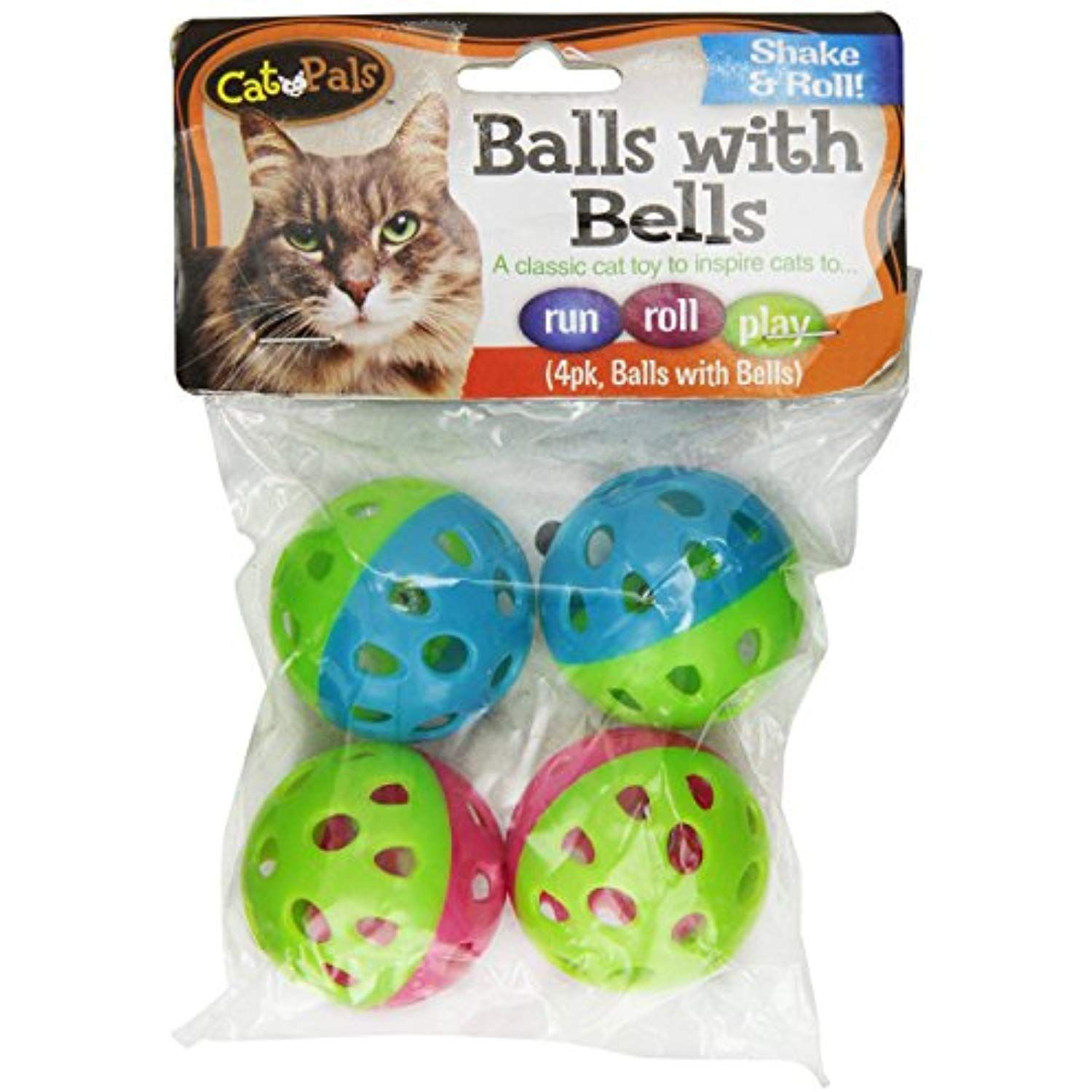 Bow Wow Cat Ball With Bell Pack Of 4 More Info Could Be Found
