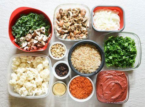 Batch cooking végétarien pour l'automne | Cuisine ...