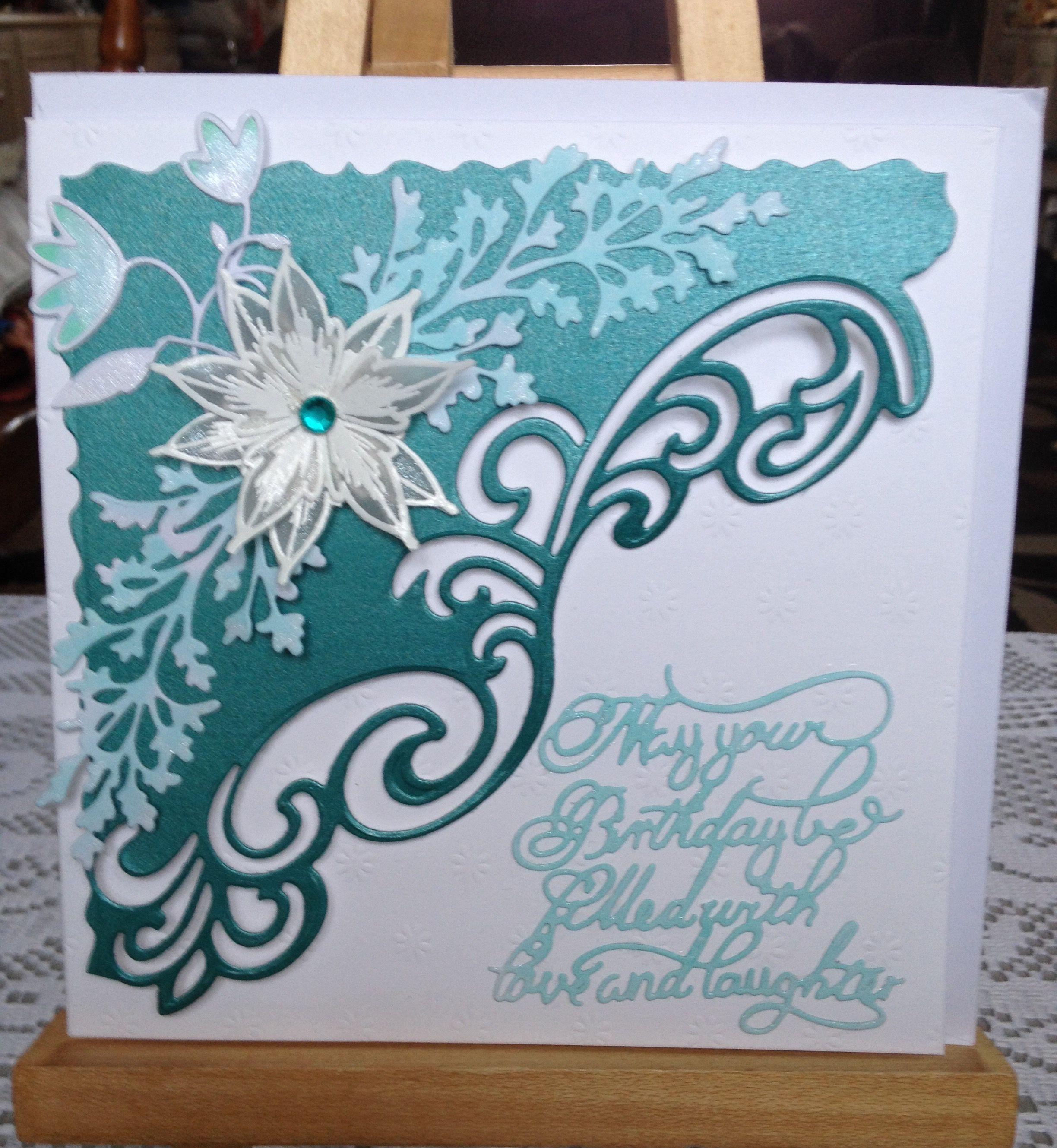 Sue Wilson Gemini Lyra Die Finishing Touches Maidenhair Fern