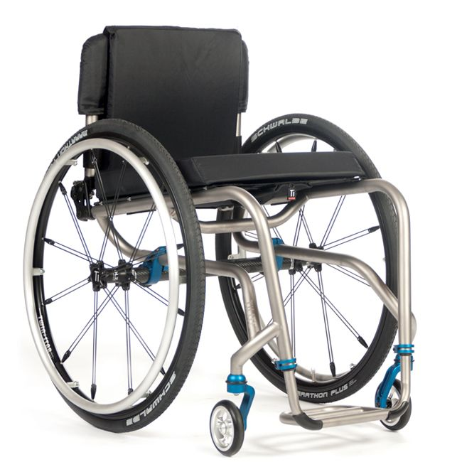 The new TiLite TR Series 3 has a base weight of only 9.3 lbs.  It's newly designed, streamlined frame makes it more transportable and maneuverable.