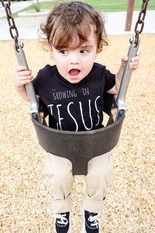 Growing in Jesus.