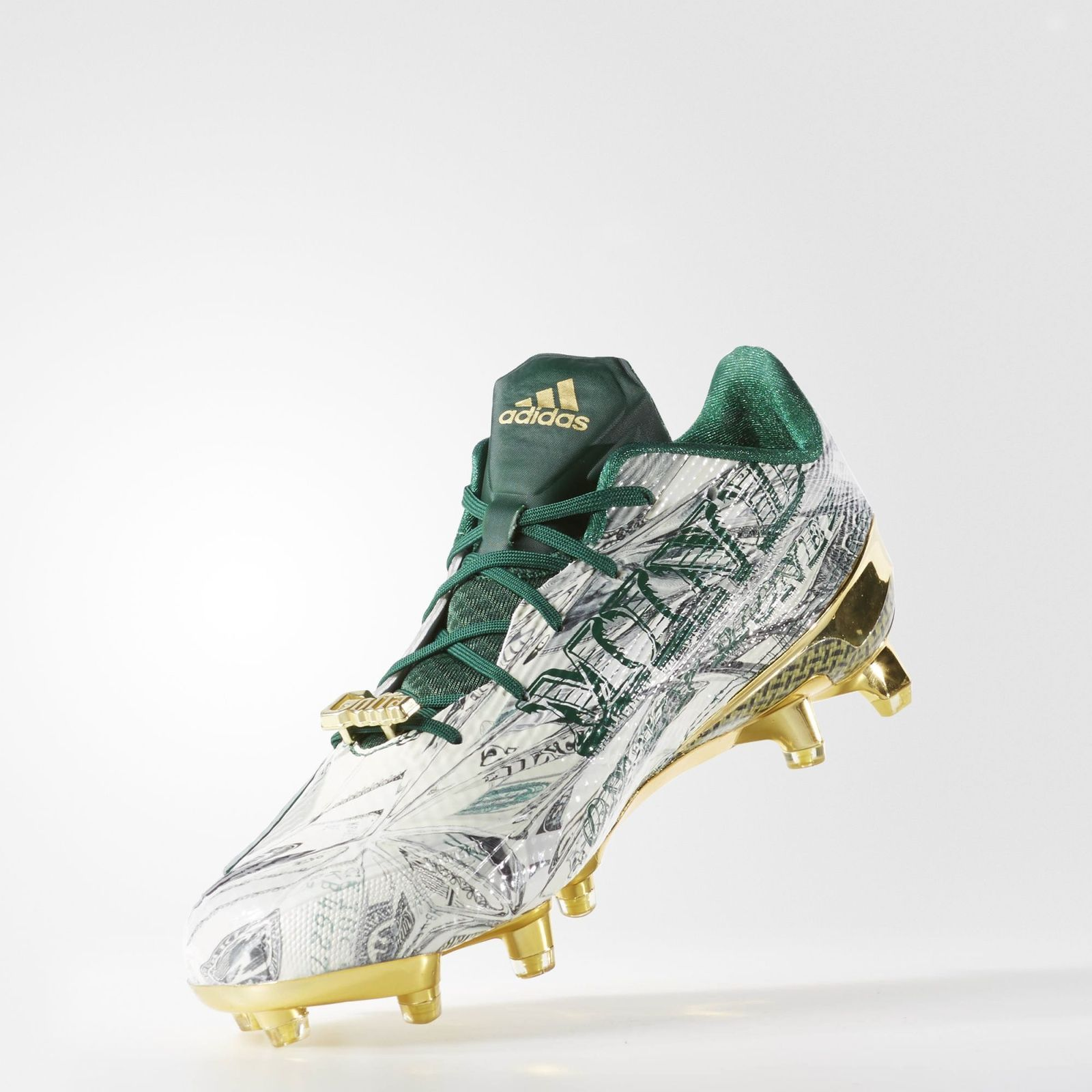 Can anyone explain these snoop doggbranded adidas cleats