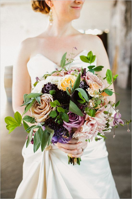 wedding bouquet by Finch & Thistle
