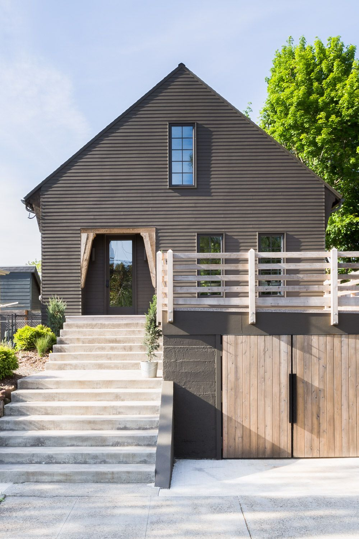 Modern Scandinavian Home With A Black Exterior Kaemingk Design House Exterior Modern Exterior Rustic House