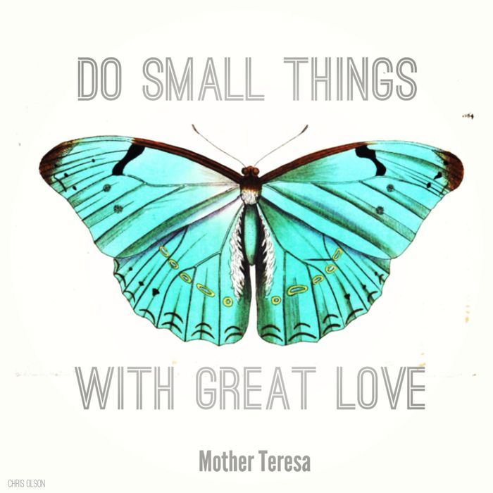 Download Small Things Matter | Mother teresa quotes, Mother teresa ...