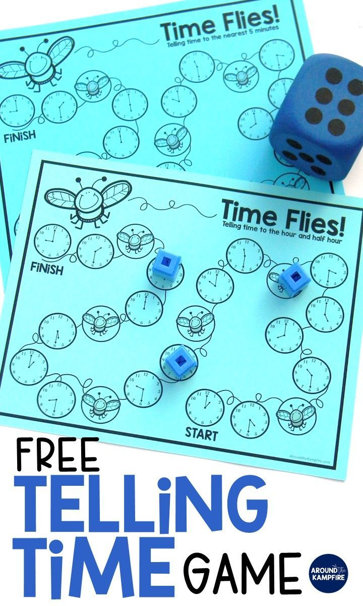 Fun Ways To Teach Telling Time | Bright Ideas for the Classroom ...