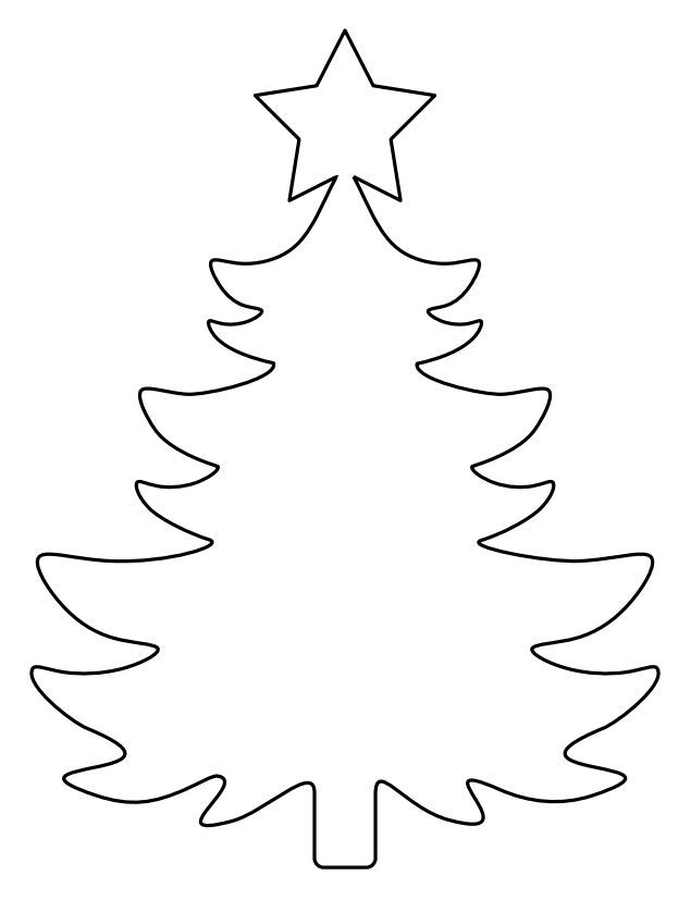 Christmas Tree Templates In All Shapes And Sizes Christmas Tree Template Christmas Tree Stencil Christmas Tree Pattern