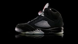 sneakers for cheap 0ef45 7637a Air Jordan V -1990 -reflective tongue -fat tongue influenced a whole  generation of footwear -inspired by WWII Mustang fighter plane -