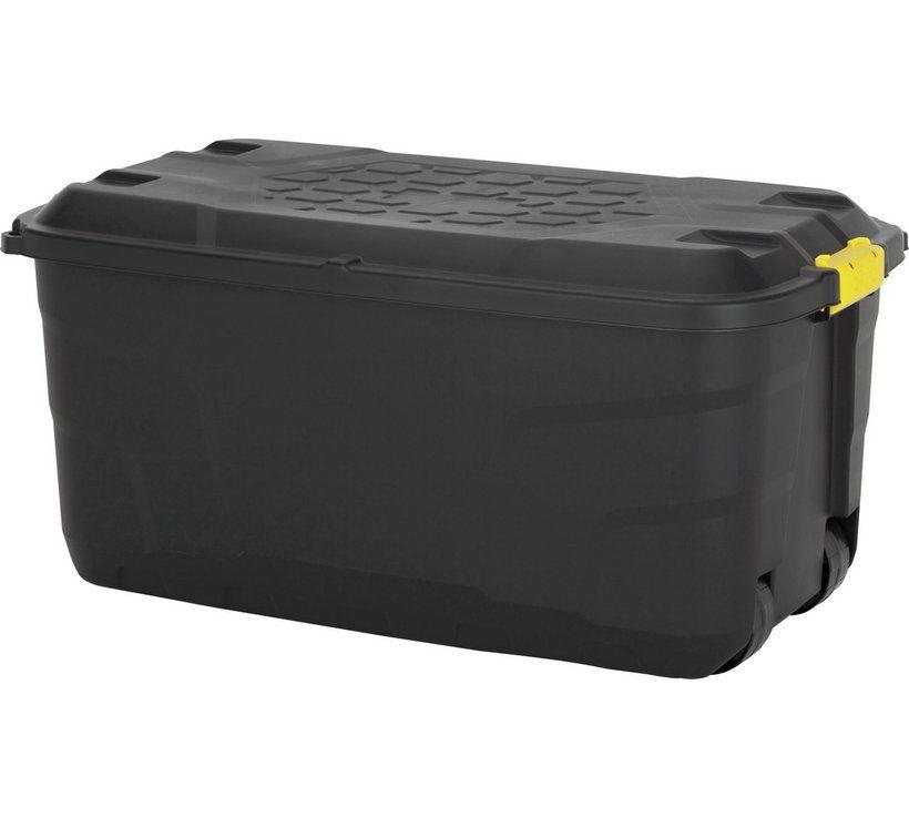 Buy argos home 145 litre heavy duty storage trunk on