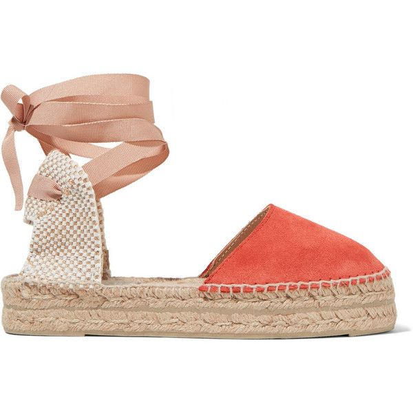 4da296a9f02 Manebi Hamptons suede espadrilles (115 CAD) ❤ liked on Polyvore featuring  shoes