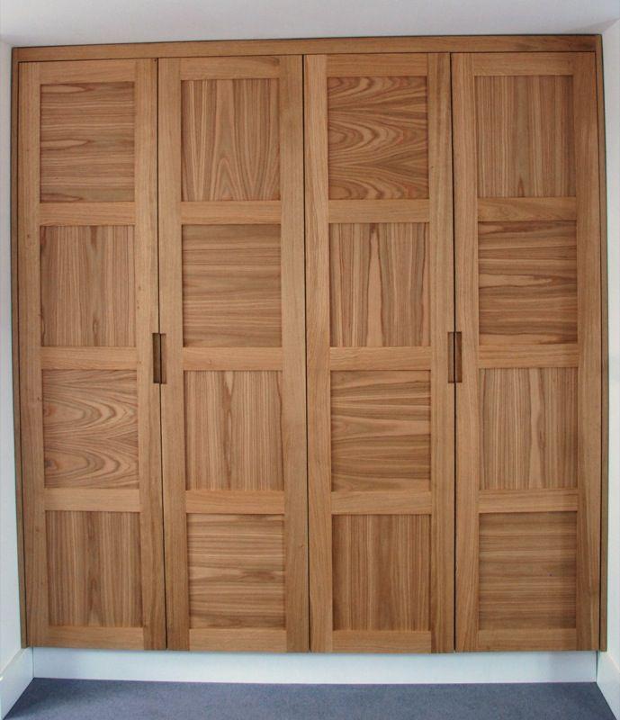 Bespoke Fitted Wardrobes Wood Works Brighton Fitted Wardrobes Oak Wardrobe Wardrobe Doors