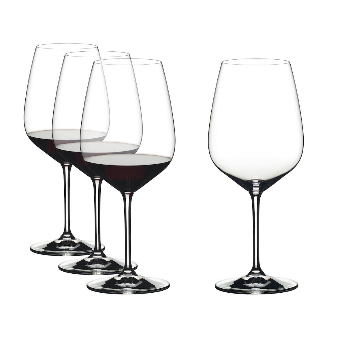 Ensemble De Verres Vin Par Riedel Ensemble De 4 Verres Vin Blanc Personalized Wine Glass Red Wine Glasses White Wine Glasses