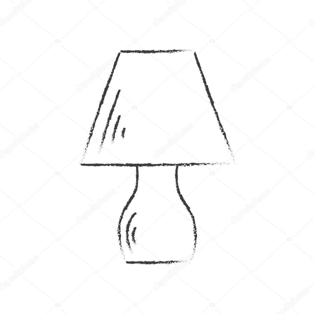 45 Reference Of Table Lamp Drawing Easy In 2020 Black Table Lamps Lamp Easy Drawings