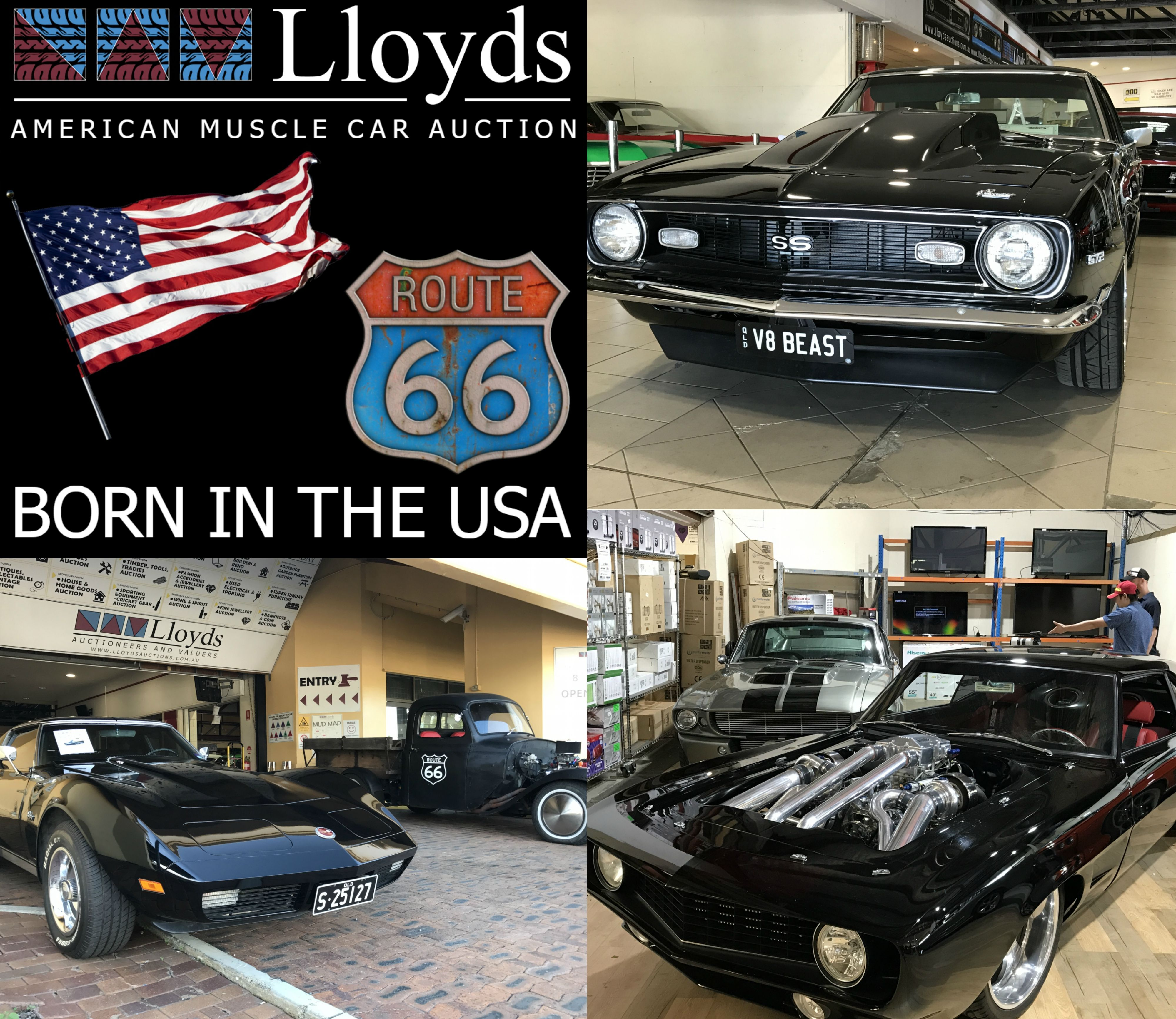 BORN IN THE USA AUCTION - ARE YOU READY? Muscle, Mustang & even ...
