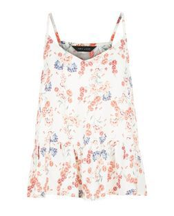 Floral Print Cami from New Look £9,99