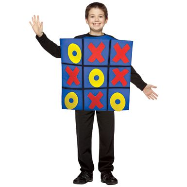 Tic Tac Toe Halloween Costume Kids Tic Tac Toe Halloween Costume