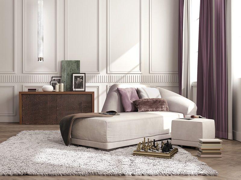 Chaise longue di lusso chaise longue dal design classico