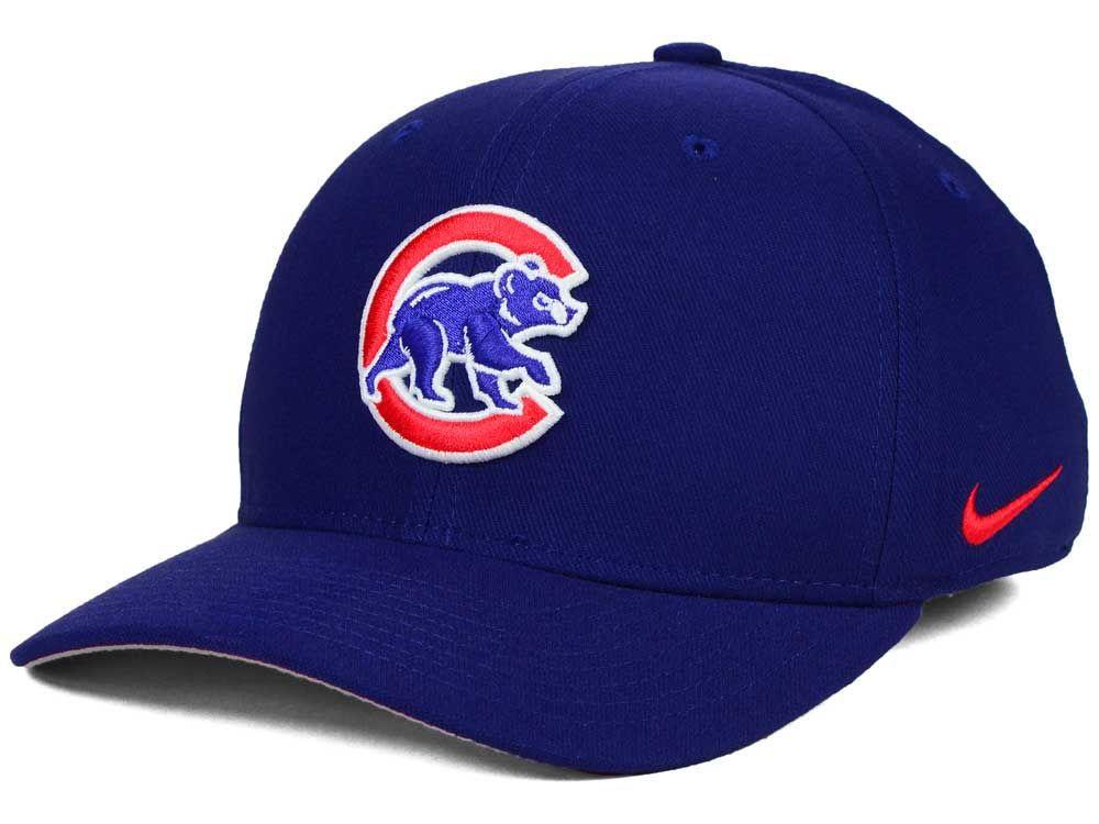 Chicago cubs nike mlb ligature swoosh flex cap cubs