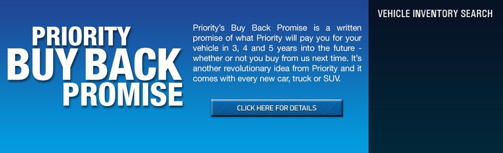 Priority Buy Here Pay Here >> The Priority Buy Back Promise Is A Written Promise Of What