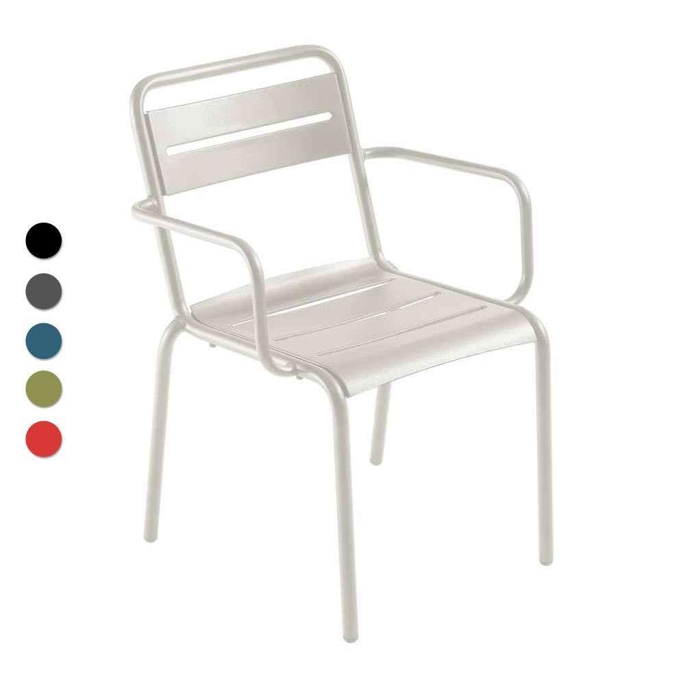 Emu Armlehnstuhl Stapelbar Star 4er Set Verschiedene Farben Stuhle Gartenstuhle Armlehnstuhl