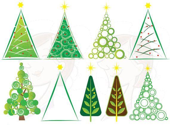 christmas trees clipart clip art christmas by maypldigitalart 5 30