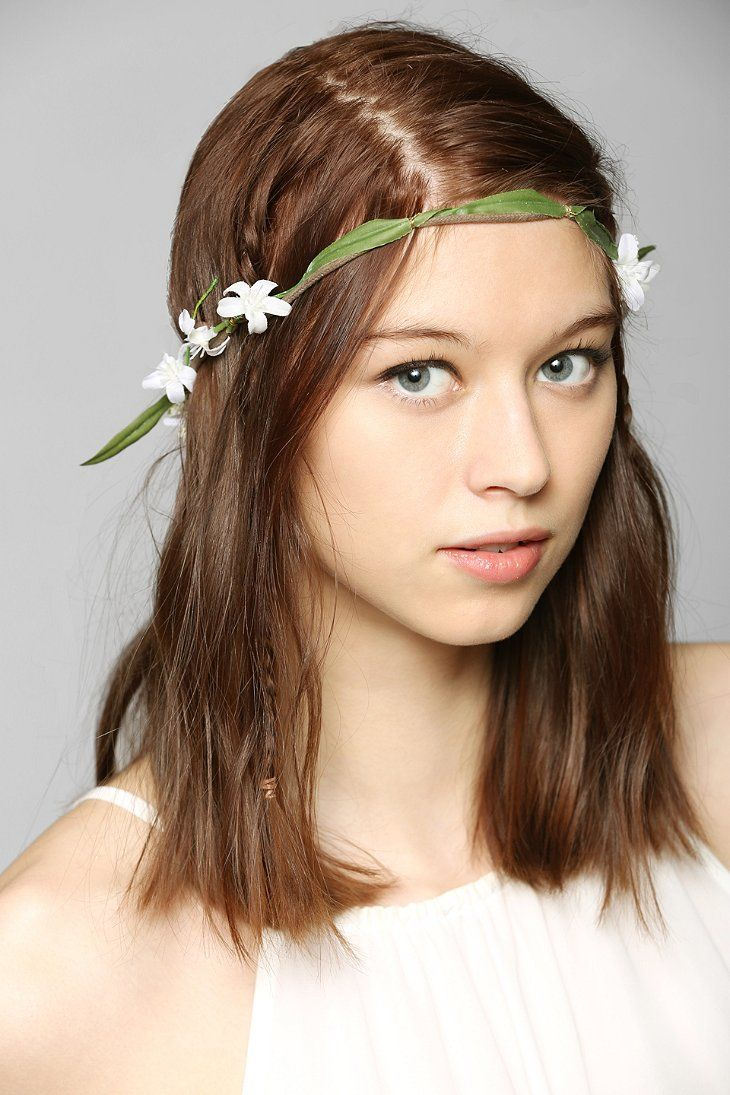 Meadow flower crown headwrap urban outfitters hair accessories