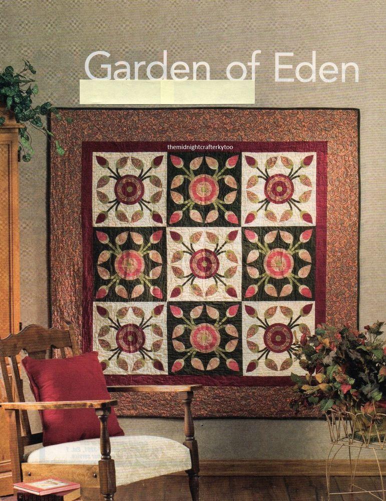 Garden Of Eden Quilt Pattern Pieced/Applique LF | Quilts ...