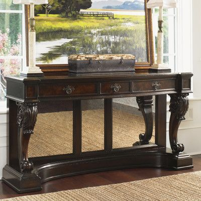 Tommy Bahama Home Island Traditions Greenwich Console Table