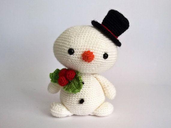 Amigurumi Snowman : Pin by renatienda on crochet dolls crochet snowman