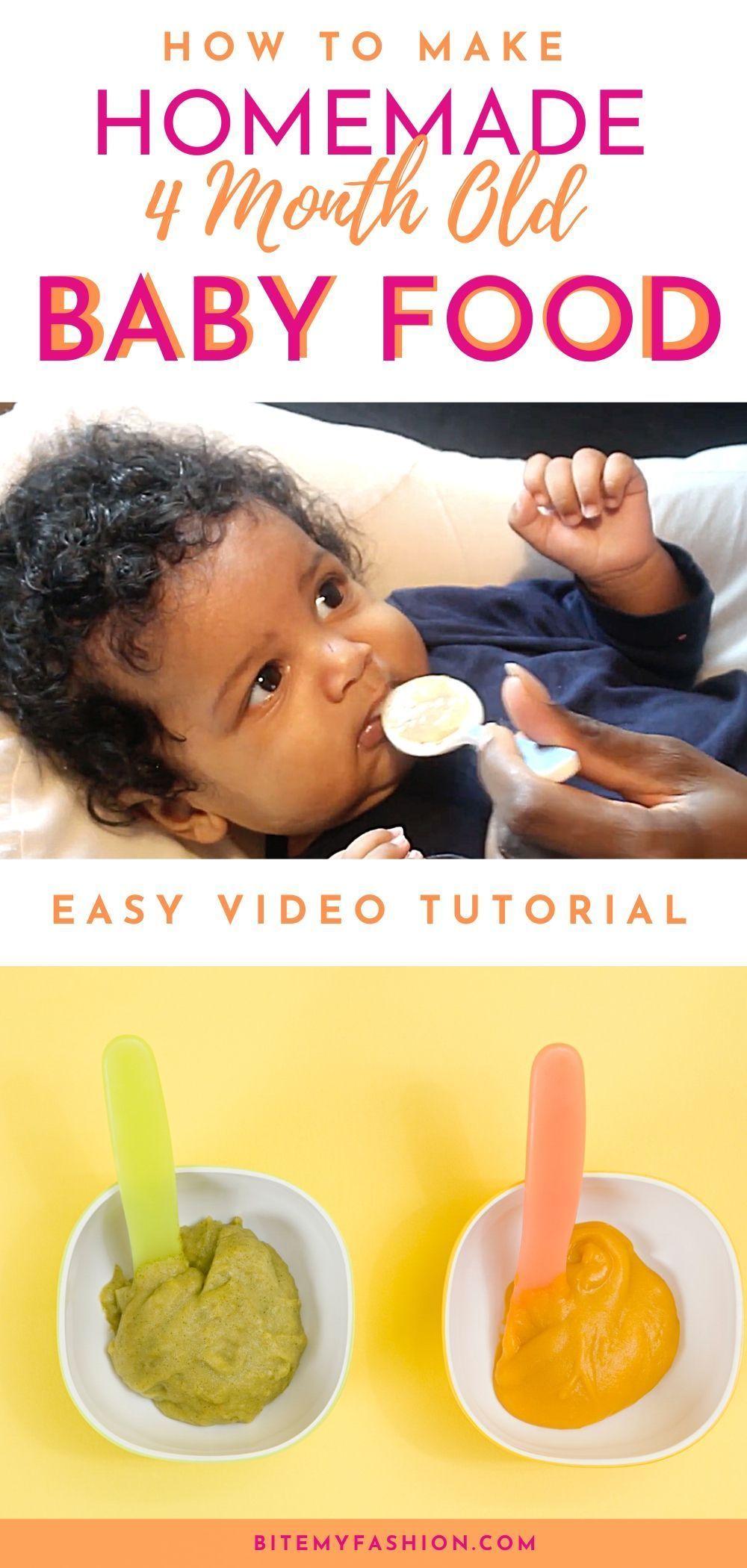 #Homemadebabyfood - How to make homemade baby food! A ...