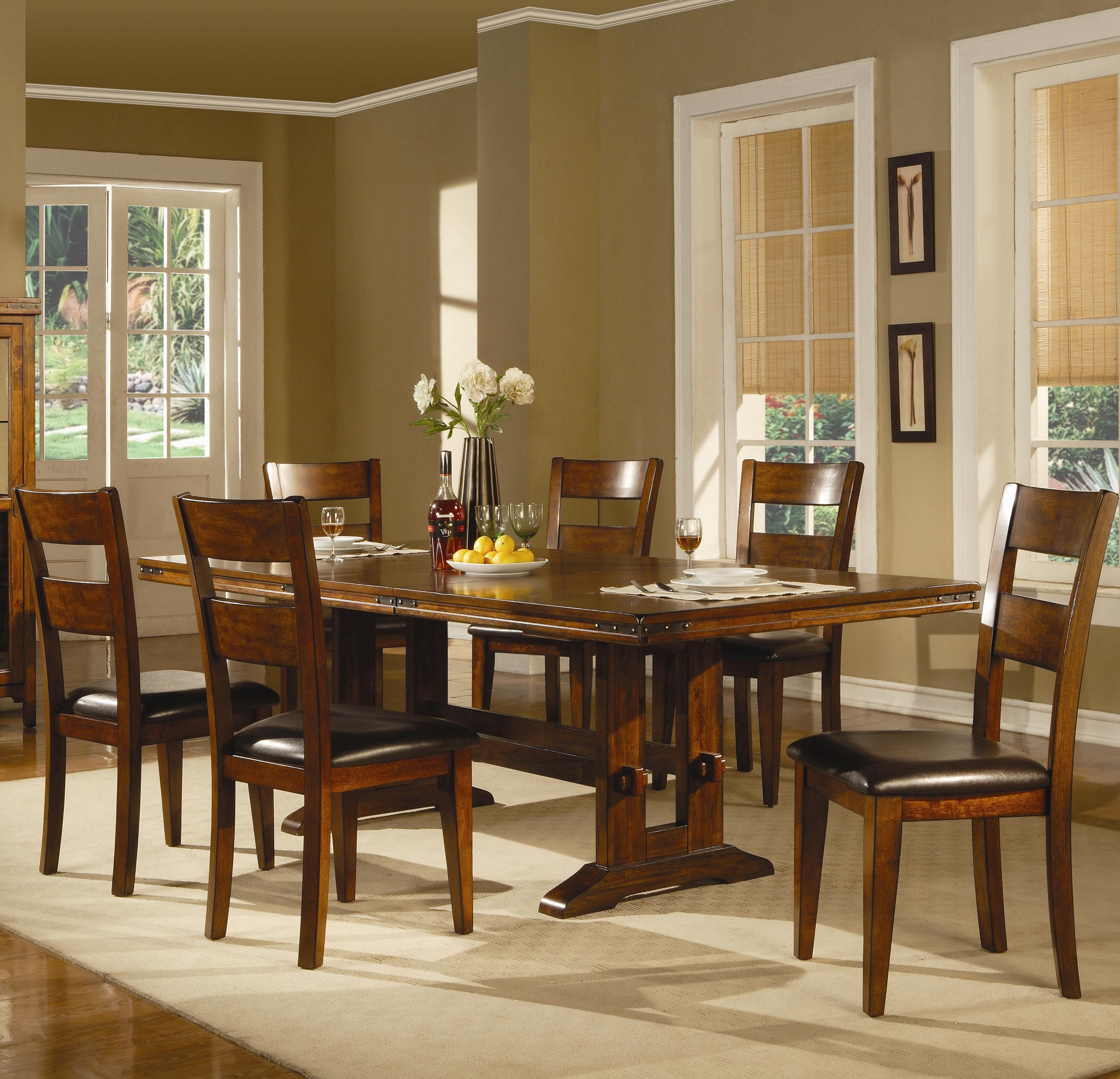 Lavista Formal Dining Table W Side Chairs By Coaster Rooms