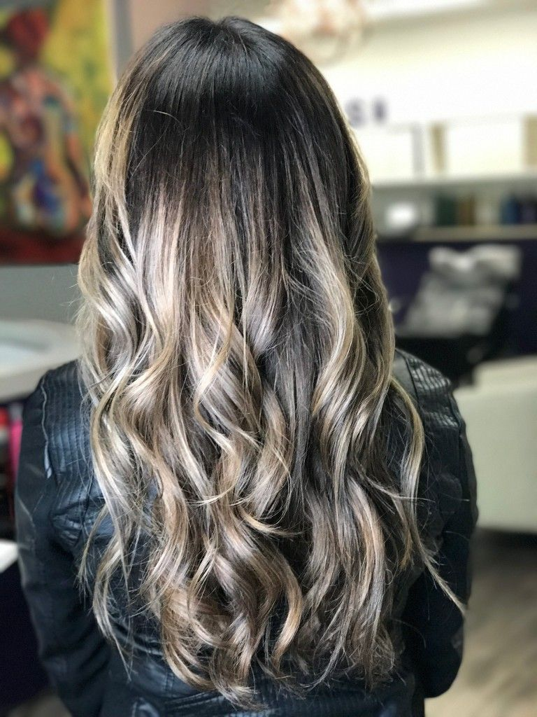 Ash Blonde Balayage Dark Root I Love It Hair Ash