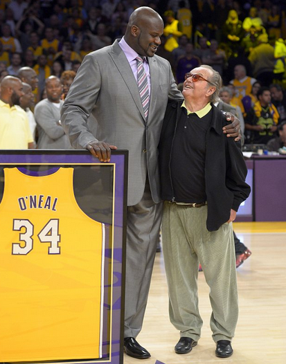 "81847af43 The Los Angeles Lakers retired basketball legend Shaquille O Neal at the  Staple Center. Shaq had this to say…""I just wish Dr. Buss was here to see  this"