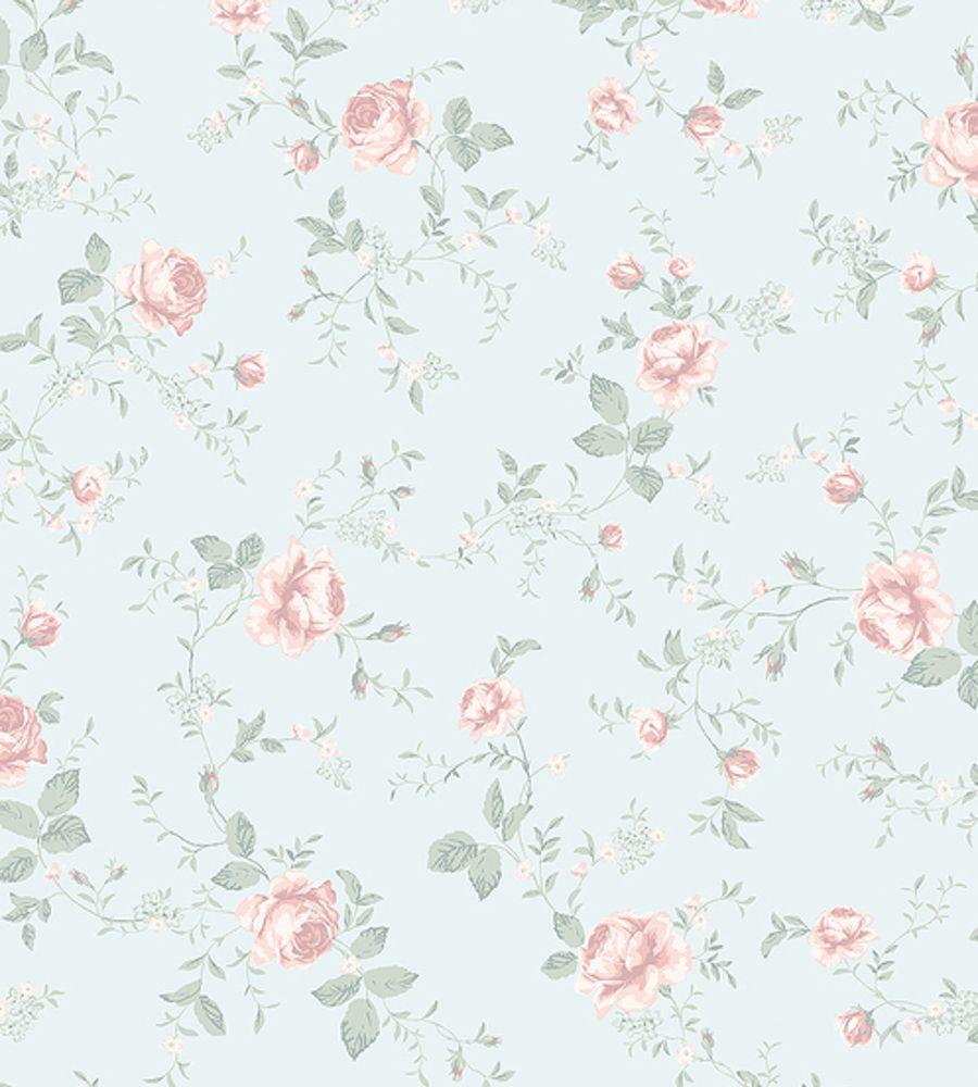 Borastapeter Rose Garden Wallpaper - 7465 - Newbie