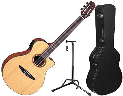 Yamaha Ntx700 Ntx Acousticelectric Classical Guitar W Hard Case And Stand For More Information Visit Image Link It Is Acoustic Electric Guitar Cool Guitar