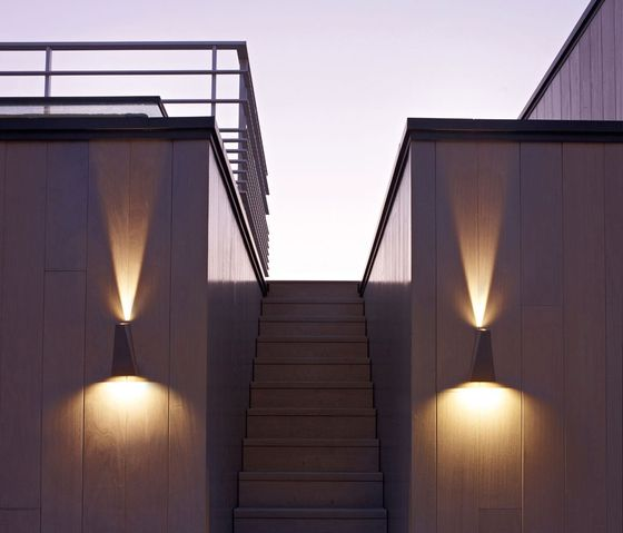 Topix l x by delta light facade luminaires led for Illumination exterieur