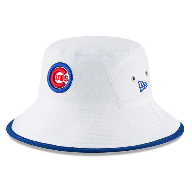 6284b82eb33 Chicago Cubs White Team Bucket Hat  ChicagoCubs  Cubs  MLB  FlyTheW   EverybodyIn