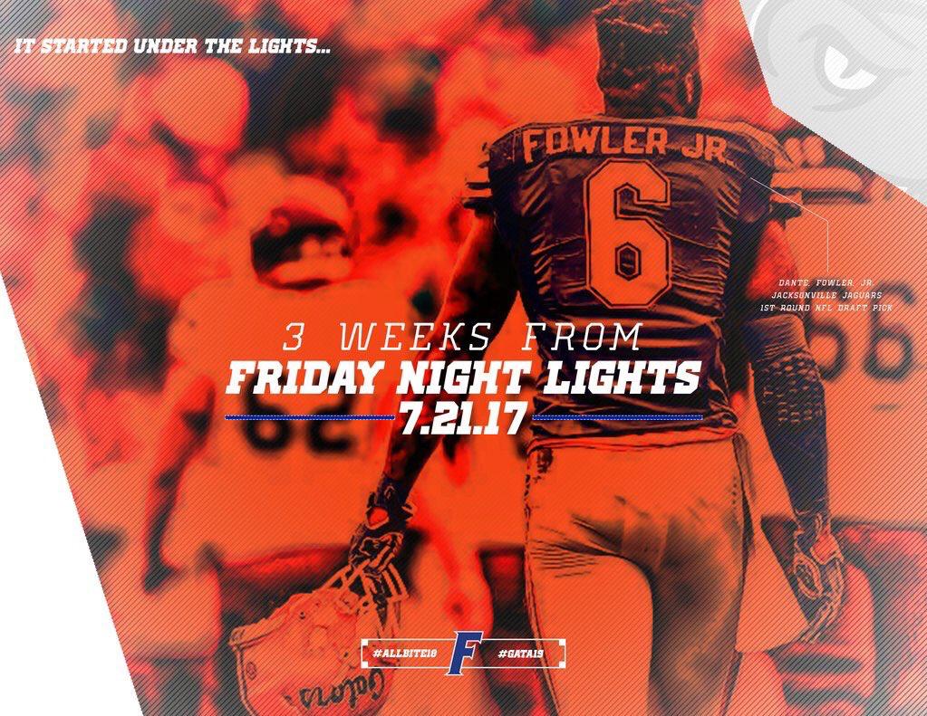 Florida Sports design, Under the lights, Friday night lights