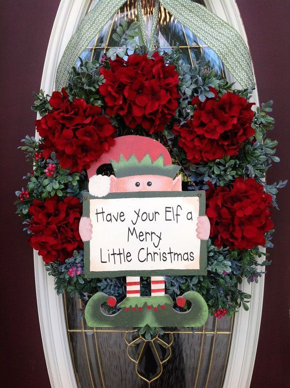 I love the Elf & sign ~ Have your Elf a Merry Little Christmas ...