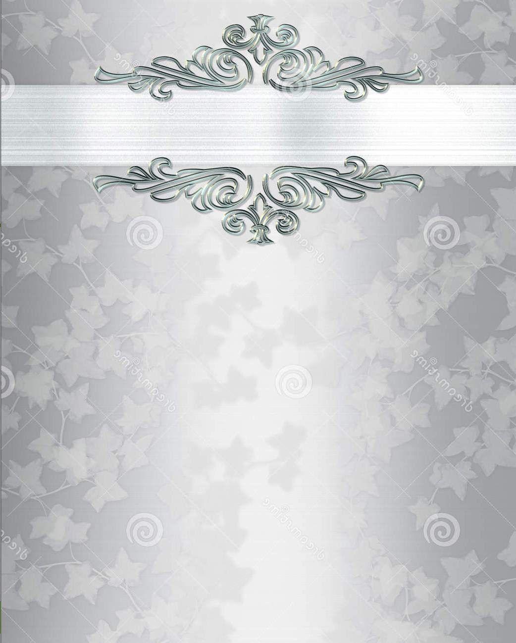 Blank Wedding Invitation Templates Black And White  Wedding