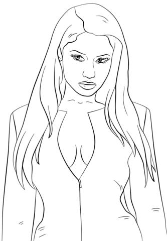 Nicki minaj coloring pages