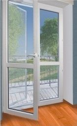 Plastic balcony and French doors- Plastic balcony and French …