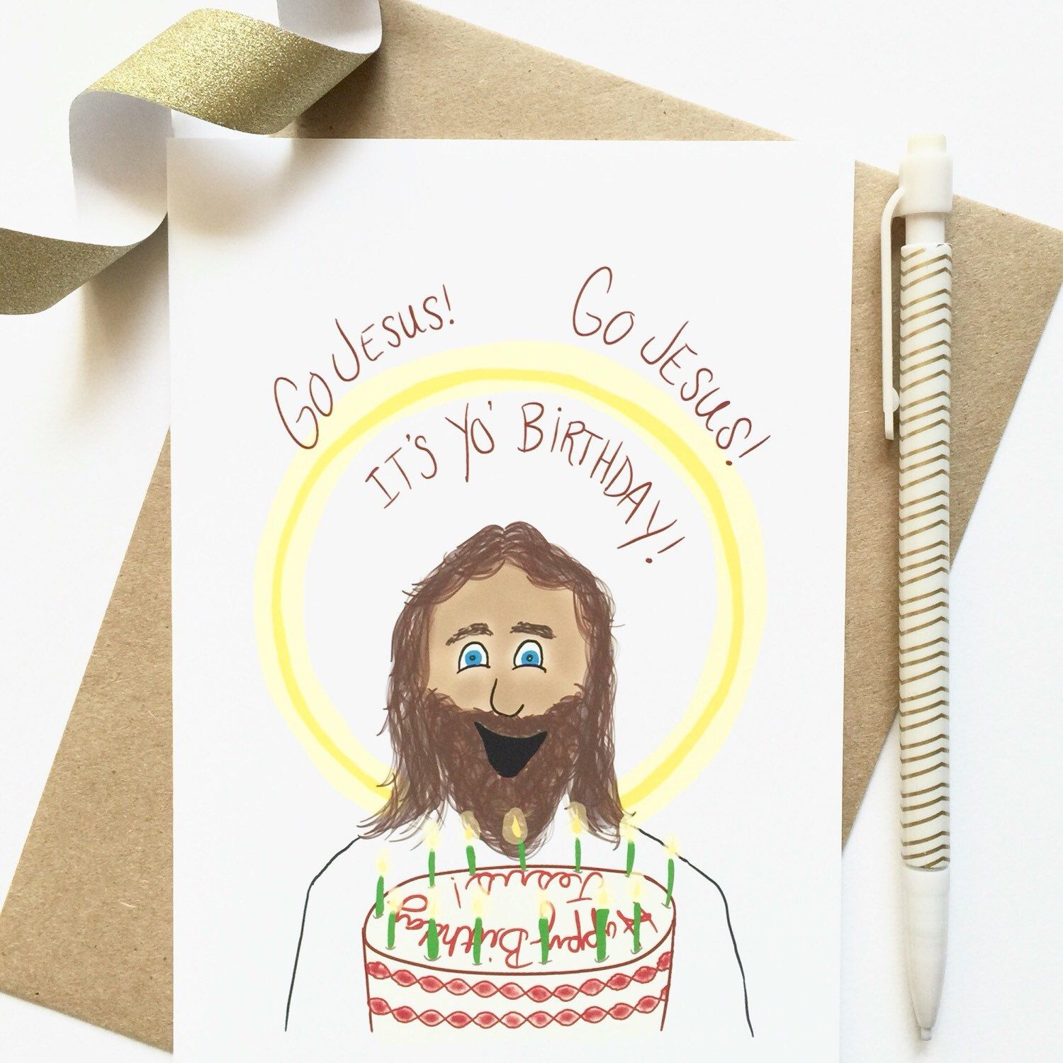 Christmas Cards Funny Happy Birthday Jesus Funny