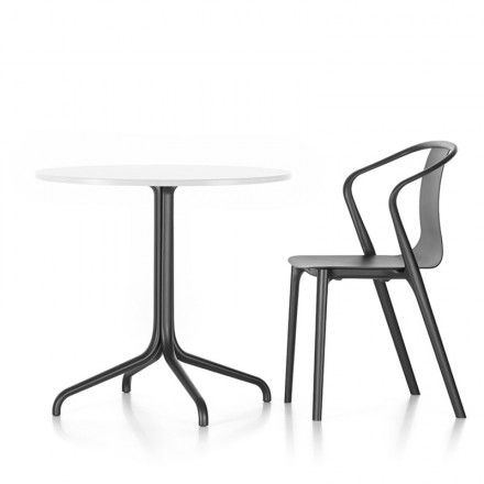 Belleville Bistro Outdoor 796mm Round Table by Vitra Ronan