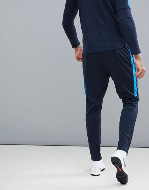 the latest 4b7c0 1d61b Nike Football  Nike Football Training Academy Dry Joggers In Blue  839363-458